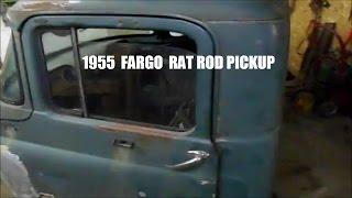 1955 DODGE  FARGO  RAT ROD BUILD part 3