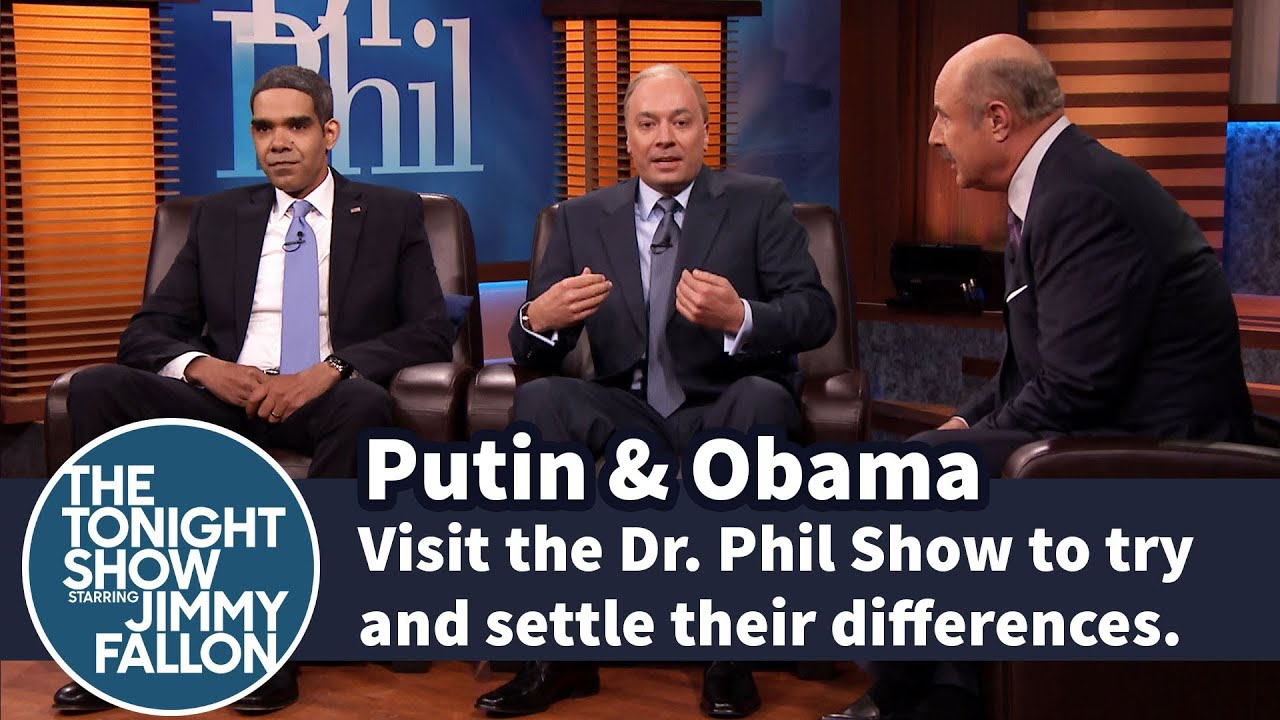 Putin Obama Go On Dr Phil Show Youtube