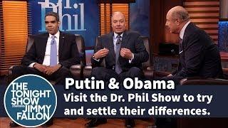 "Putin & Obama Go On ""Dr. Phil"" Show"