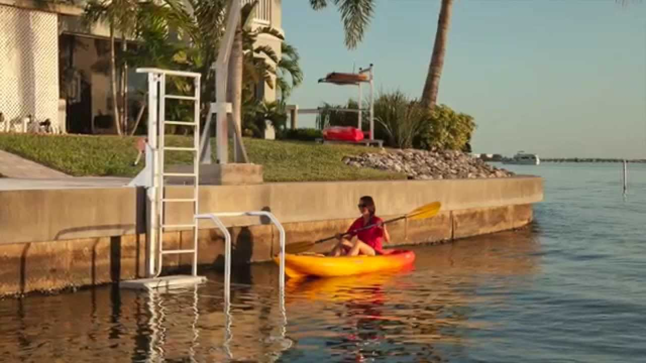 Kayak Ladder Lift Amp Launch By The Dock Doctors Youtube