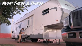 Never Do This To Your RV!