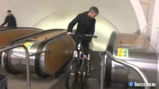 В метро на электровелосипеде