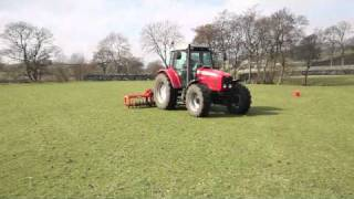 Moorland Aerators - Tractor Drawn Browns 4.5m Slitmaster