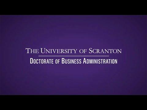 Research DBA Program - The University of Scranton