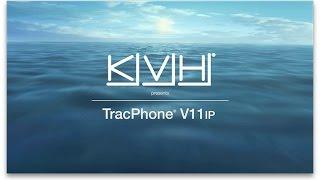 kvh presents tracphone v11 ip