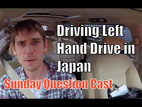 Sunday Quesiton Cast - Pacific Coast Auto - Drive Left Hand Drive in Japan