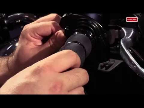 How To Install Avon Grips Air Cushion Fly By Wire Motorcycle Grips Tutorial