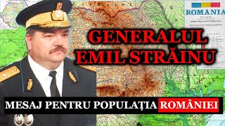 GENERALUL EMIL STRAINU Rupe Tacerea : Mesaj URGENT pentru Populatia Romaniei,Stiri