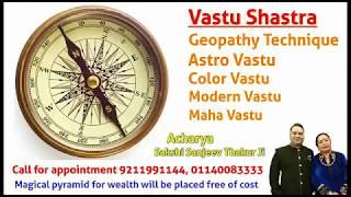 Checking For Negative Energies, Geopathic Stress at Home By Acharya Sakshi Sanjeev Thakur Ji