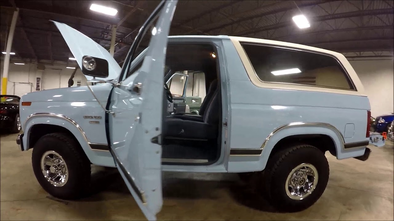 1986 Ford Bronco Youtube 1969 Xlt