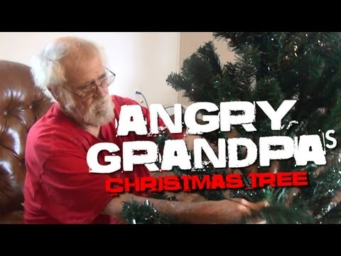 Angry Grandpa's Christmas Tree - YouTube