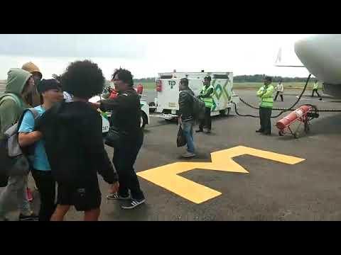 Penumpang Sriwijaya Air Ribut, Gara-gara Maskapai  bawa durian 3 Ton.(Bandara Fatmawati Bengkulu)