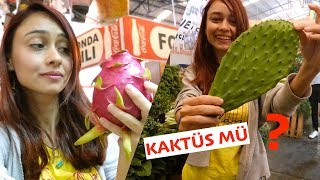 MEKSİKA'DA MARKET FİYATLARI - İlginç Meyve, Sebzeler ve Yaşam