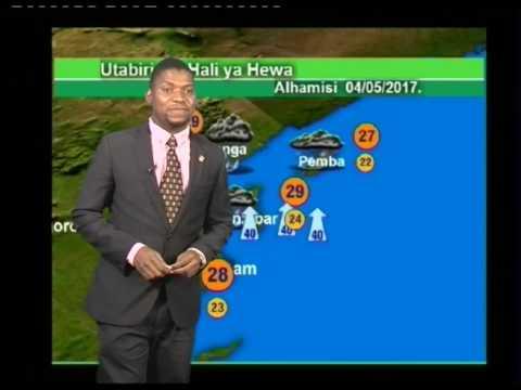 TANZANIA WEATHER FORECAST 03/05/2017