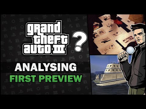 GTA 3 - First Ever Preview Vs. Final Game [Beta Analysis]  - Feat. SpooferJahk