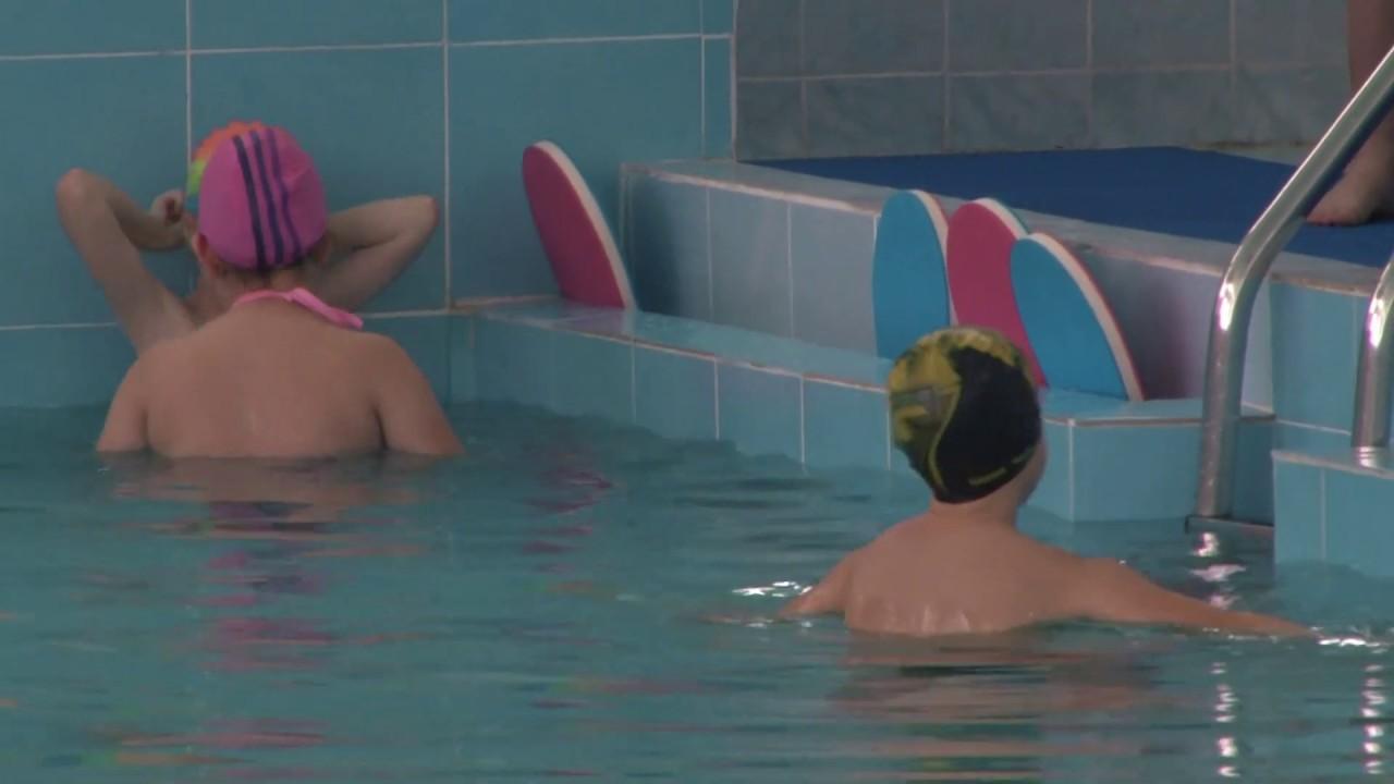 Десна-ТВ: Возобновление занятий по плаванию в бассейне школы №1