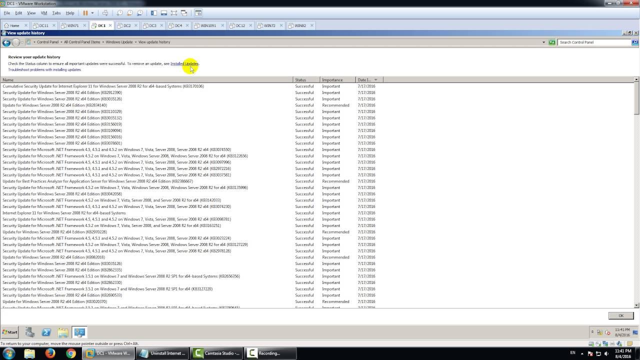 internet explorer 8 windows server 2008 r2 standard