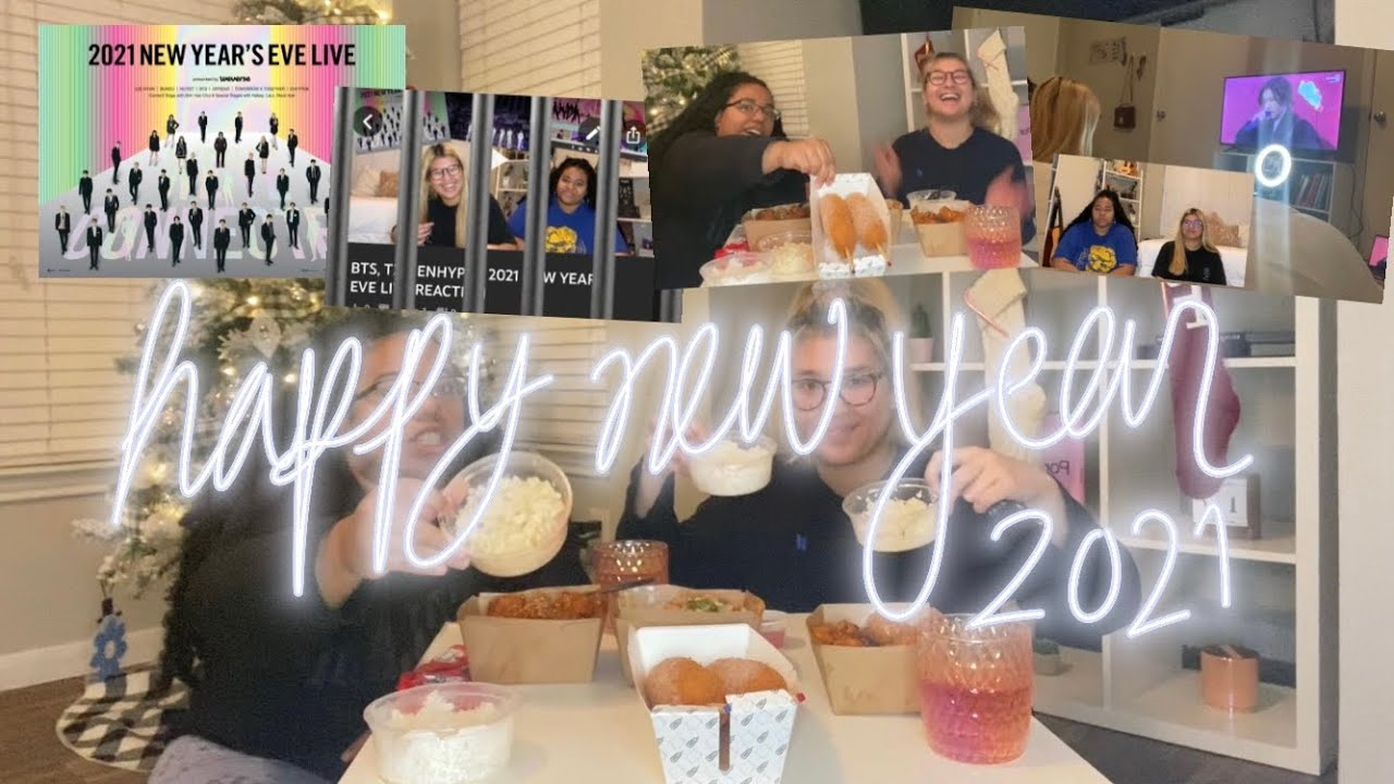 BTS, TXT, ENHYPEN, HANBIN 2021 NEW YEARS EVE LIVE REACTION (BIG HIT/WEVERSE), BTS ARMY TAG & MUK