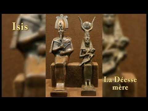 Trinité Égyptienne: Osiris Isis Horus