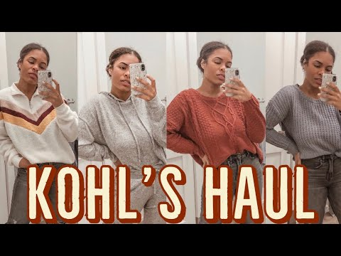 [VIDEO] - KOHL'S TRY ON HAUL | FALL OUTFIT IDEAS | VLOGTOBER DAY 28 3