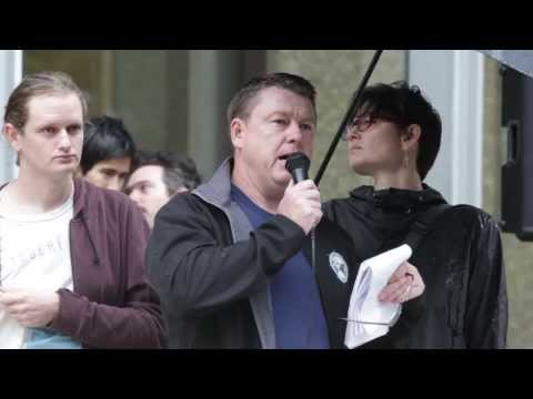 Anti-Racist Counter Rally Queens Square - Sydney 4th April 2015