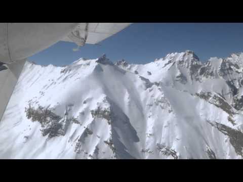 Flight over northern Afghanistan