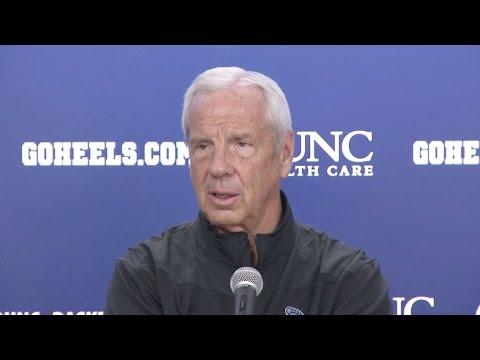 UNC Men's Basketball: Roy Williams Pre-Indiana PC
