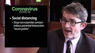 Coronavirus - What is the difference between self isolation and social distancing?