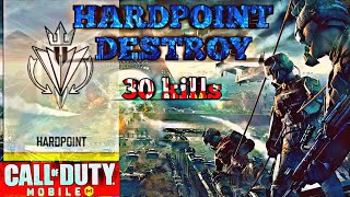 *NEW* CALL OF DUTY MOBILE HARD POINT DESTROY IN RANKED MATCH