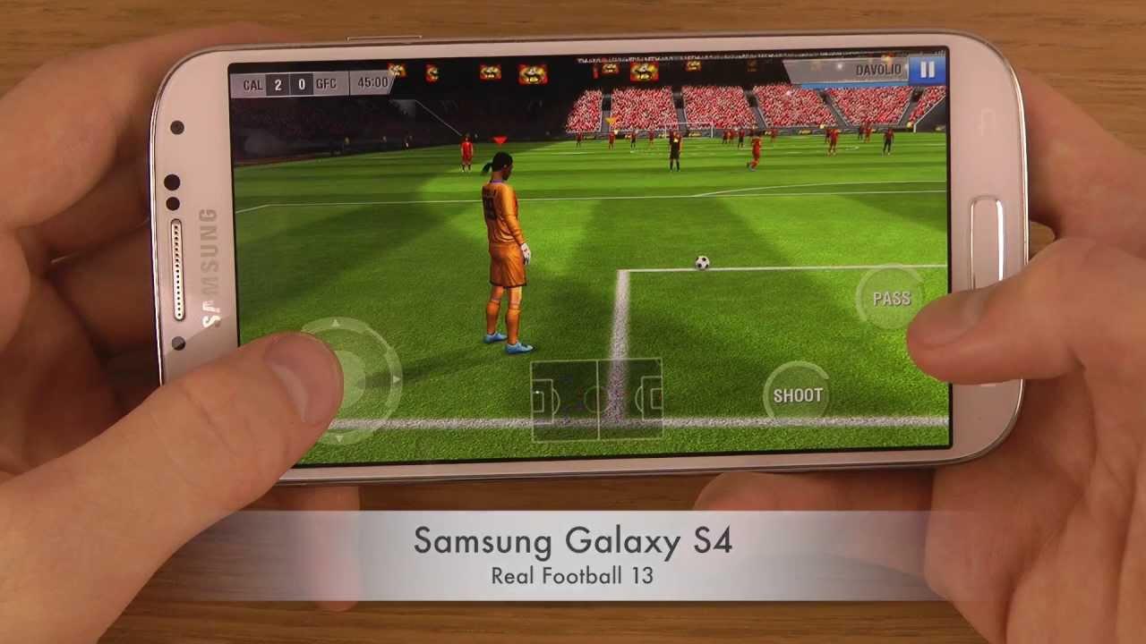 لعبه Real Football 2013 v1.6.8b مهكره جاهزه (كره قدم)