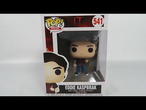Funko Pop Vinyl IT Eddie Kaspbrak Unboxing
