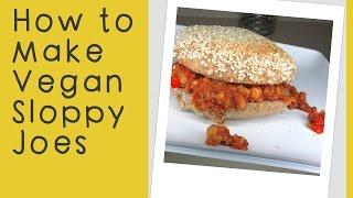 Vegan Sloppy Joe Recipe | Soy- Free