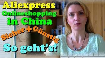 Onlineshopping in China per Aliexpress - Tutorial - Deutsch / German | Lethargic Mom