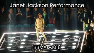 [FANCAM] BBMAs 2018 - Janet Jackson Full Performance