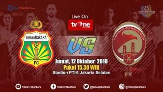 Bhayangkara FC vs Sriwijaya Liga 1 2018