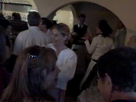 REFUGE Celebrity Bartending Charity Event with Linda Hamilton, Mark Medoff and Chris Payne Gilbert