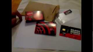 Unboxing Sim Card Virgin Mobile