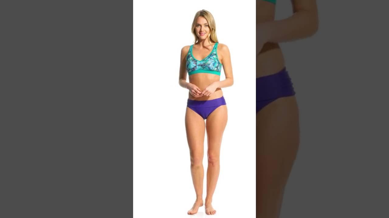 930a6118e1522 Prana Women's Pinwheel Dreaming Bikini Top | SwimOutlet.com - YouTube