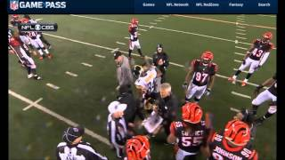 What Started Joey Porter Bengals Conflict 2016 Wild Card