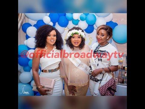 Toke Makinwa, Ini Edo, Annie Idibia, Faithia Williams And Others Grace Toyin Abraham's Baby Shower