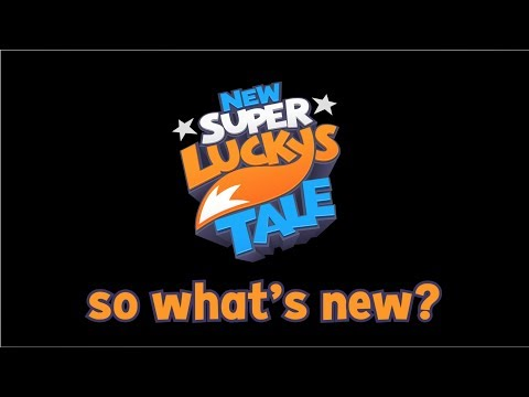 New Super Lucky's Tale выйдет на Xbox One
