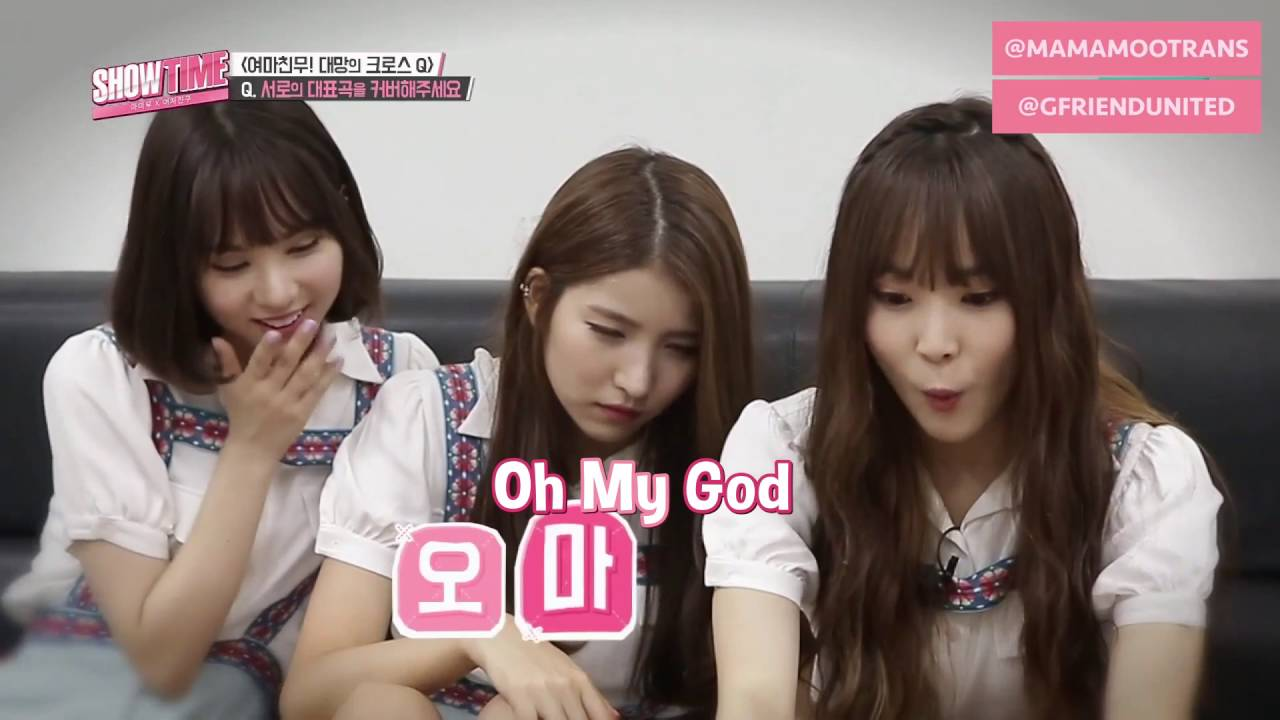 [ENG SUB] 160804 SHOWTIME Ep  5 (Mamamoo X Gfriend) Full Episode