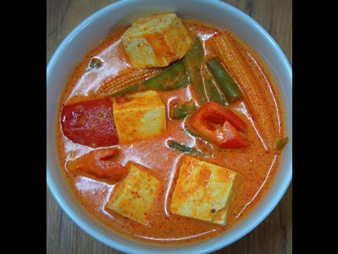Thai Red Curry recipe with vegetables – Vegetarian