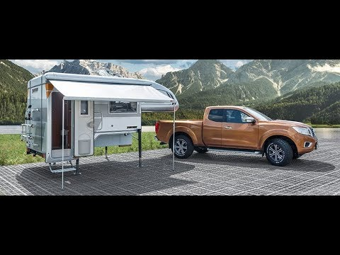 tischer pick up camping unit on ford ranger youtube. Black Bedroom Furniture Sets. Home Design Ideas