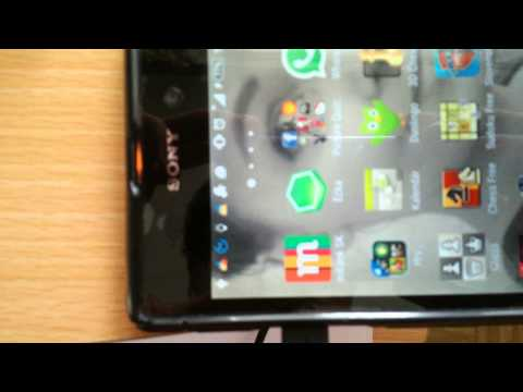 Xperia Z1 LCD screen is blinking video to seller 2