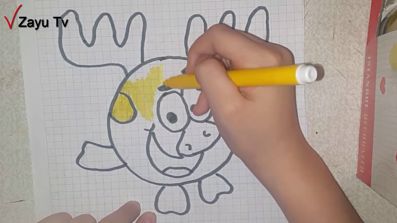 How To Draw And Coloring Pages For Kids Children Babies Zayu Tv
