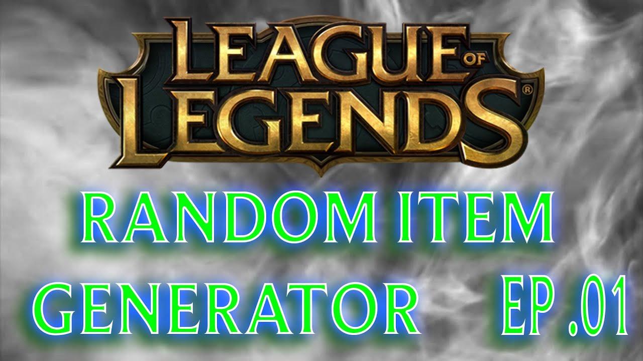 dostępny zamówienie online unikalny design League of Legends Random Item Generator Ep. 01 - YouTube