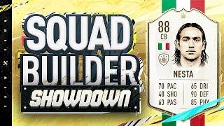 Fifa 20 Squad Builder Showdown!!! ICON SWAPS NESTA!!! Alessandro Nesta SBSD