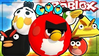 Roblox | Take the whole Angry Bird Home | MinhMaMa | Angry Birds Obby
