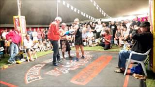 Danny Hawkins fights challenger- Outback Fight Club -  Kilkivan 2015